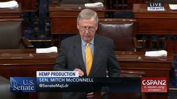 Leader McConnell Hemp Bill