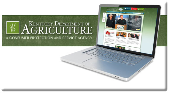 Kentucky Department of Agriculture New Website Launch