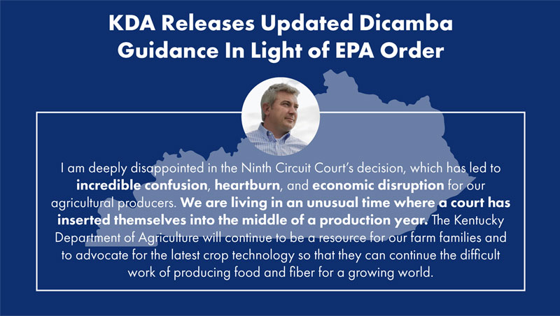 Updated Dicamba Guidance
