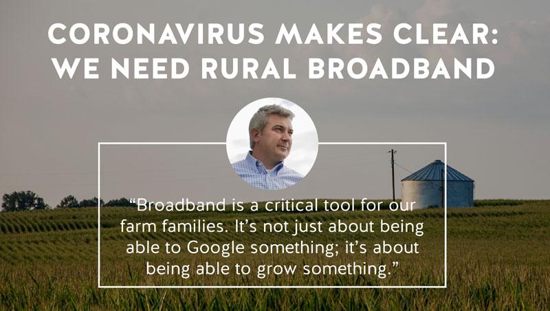 Coronavirus makes clear: we need rural broadband