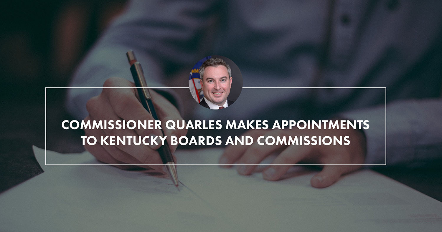 Commissioner Quarles makes appointments