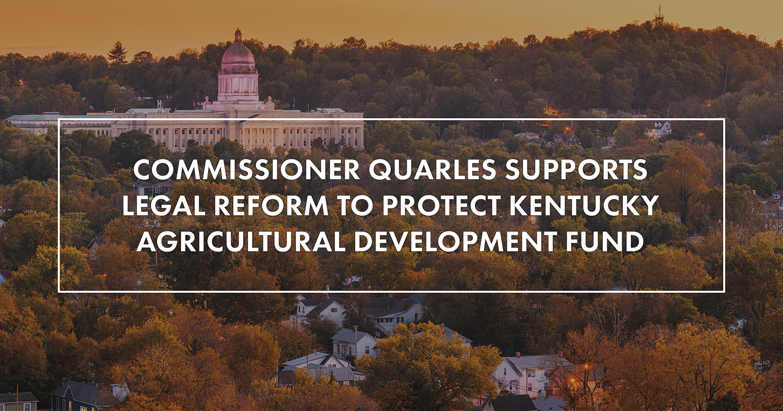 Quarles supports legal reform