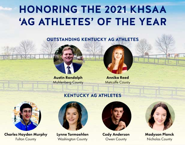 2021 KSHAA KDA Ag Athletes of the Year announced